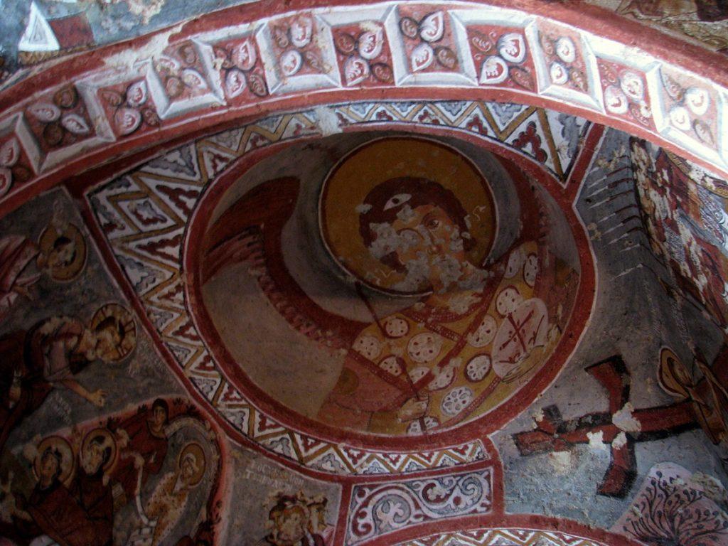 Cappadocia: JESUS HOLDING THE APPLE (12)