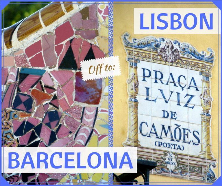 BARCELONA/LISBON THINGS TO DO