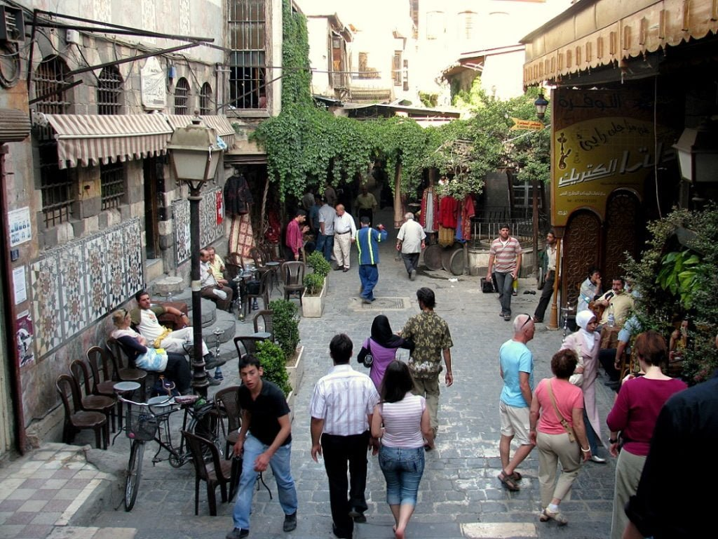 Homage to Syria: HISTORY OF DAMASCUS (1)