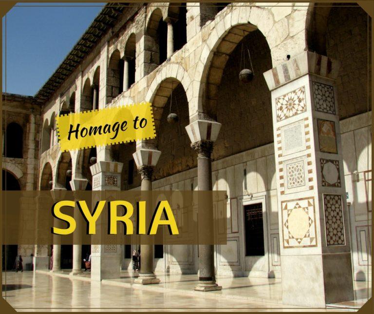 Homage to SYRIA!