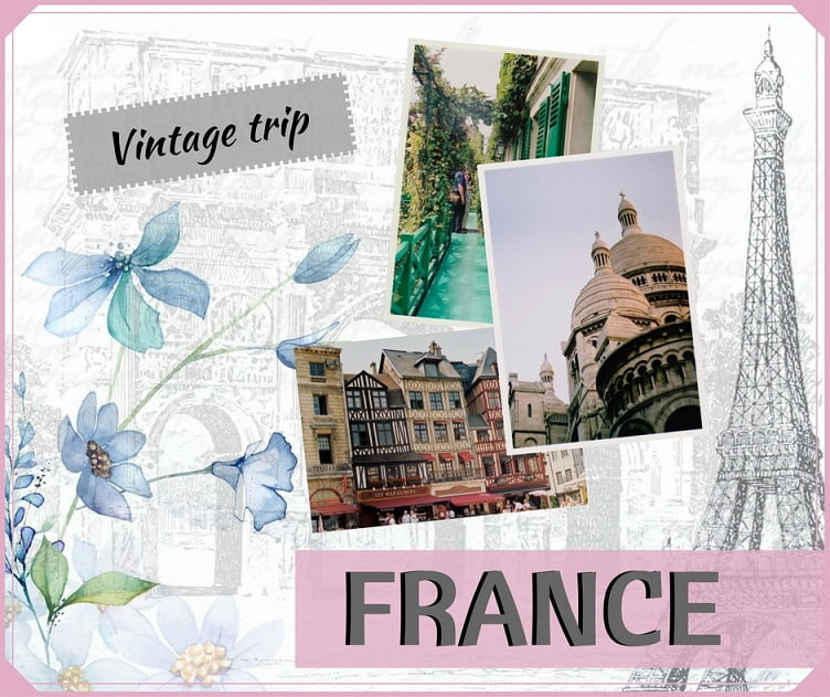 One poetic trip to FRANCE!
