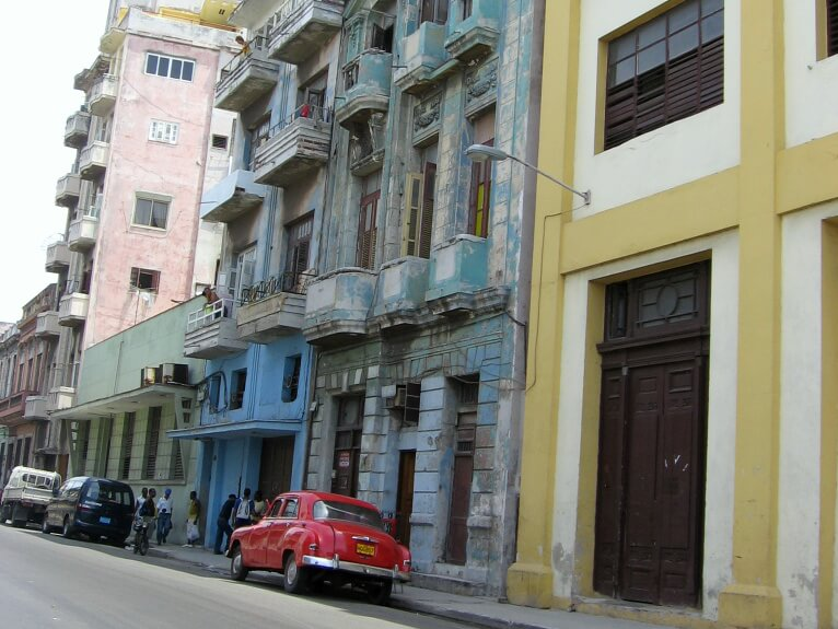 Cuba: MY LITTLE BLUE TAXI – SIDECAR! (2) – Glimpses of the World