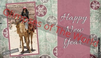 Greeting-card-Happy-New-Year-Petra-Jordan-Glimpses-of-The-World