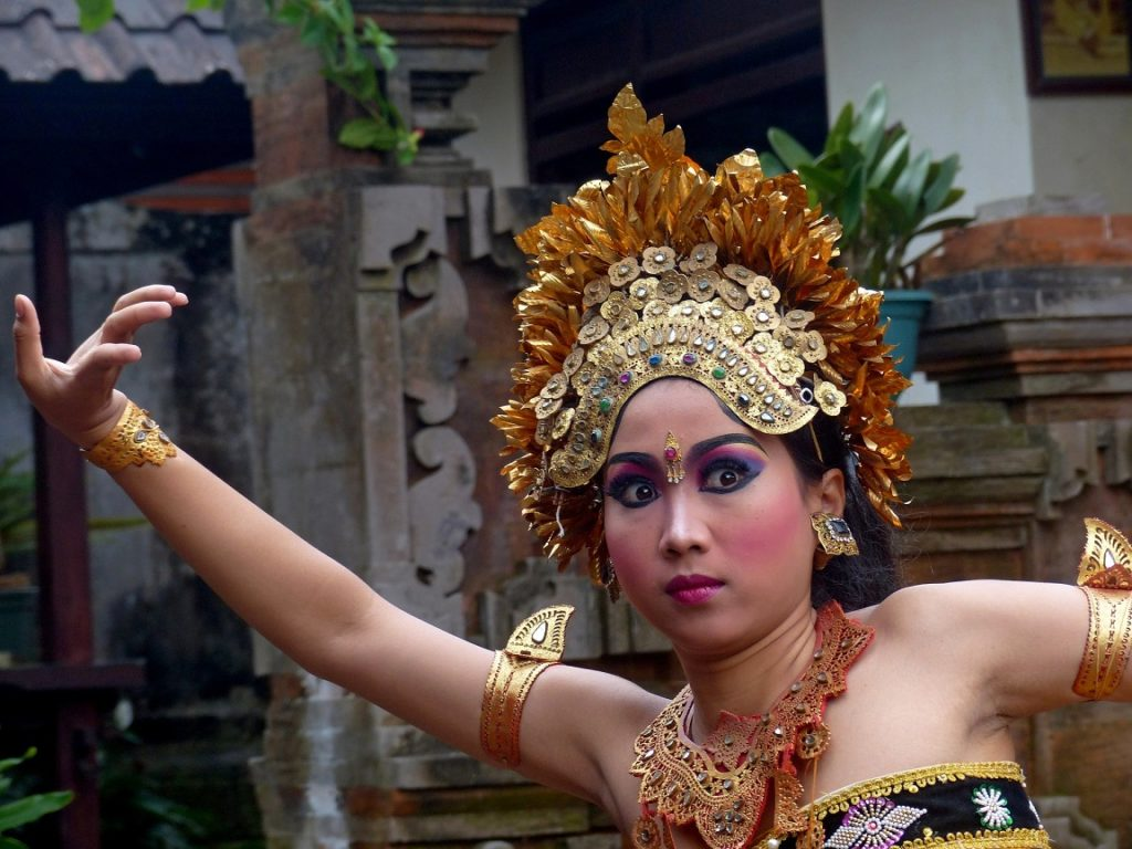 Bali Indonesia: TRADITIONAL DANCE (5)