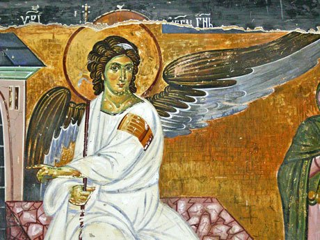 Serbia-travel-White-Angel-fresco-Glimpses-of-The-World