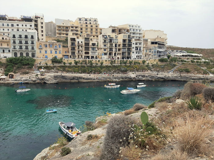 Malta-Gozo-Xlendi-Bay-Glimpses-of-the-World